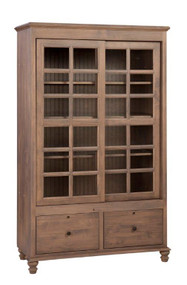 Executive Bookcase- 2 drawer