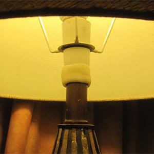 Lamp shaft repair