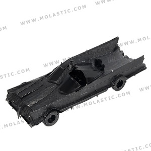 Classic TV Batmobile Black 3D Metal Model Kit - โมเดลโลหะ 3 มิติสีดำ Classic TV Batmobile
