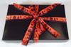 Spooky Town ribbon on this black candy box will make them love the treats inside event more!!