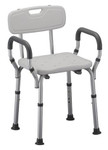 Deluxe Bath Seat with Back & Arms 9026 by Nova