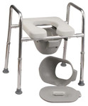 Padded Shower Chair & Commode 34654 by Eagle Health