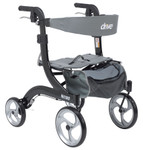 Nitro Aluminum Hemi Rollator RTL10266-H by Drive