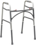 Bariatric Two-Button Folding Walker 10220-1 by Drive