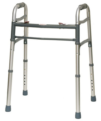 Probasics 1050Y Junior Folding Walker Dual Button