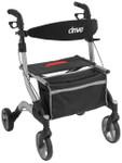 "Drive I-Walker Aluminum Rollator 7"" Wheels RTL10555"