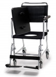 "Versamode Drop Arm Commode 5"" Wheels 6810A by Lumex"