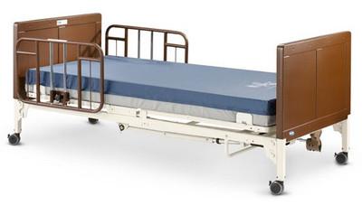 g5510 bed with half rails g30 u0026 mattress