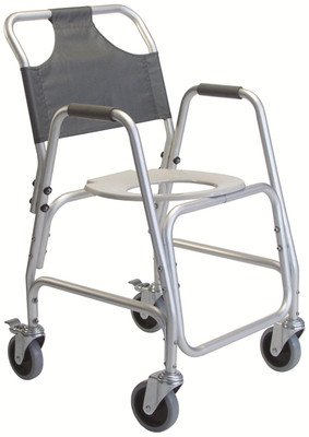 Lumex 7910A Rolling Shower Chair with Wheels