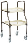 "Drive KD Handy Trolley Walker 4"" Casters KST001"