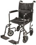 Steel Transport Wheelchair by Everest & Jennings