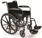 Traveler SE with fixed arms and swing-away footrests
