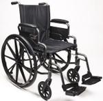Traveler L4 Lightweight High Strength Wheelchair by Everest & Jennings