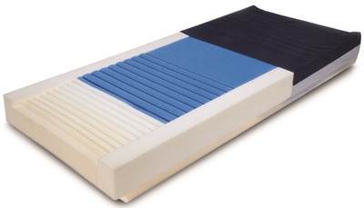 Gold Care 419 Foam Mattress shown without cover