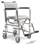 """Everest & Jennings Rehab Shower Commode 5"""" Wheels"""