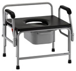 Bariatric Heavy Duty Drop-Arm Commode 8590 by Nova