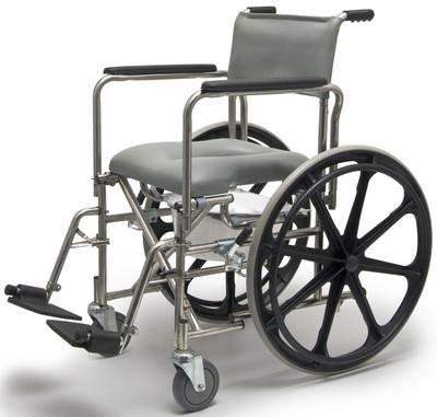 Everest Jennings Rehab Shower Commode Wheelchair