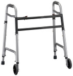 Nova Heavy Duty Folding Walker w/ Wheels 4095DW5