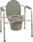 Probasics Three-In-One Steel Commode BS31C