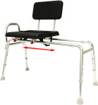 Eagle Health Padded Sliding Transfer Bench 77111 77181 77191