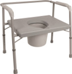 Probasics Bariatric Commode Extra Wide Seat BSB24C