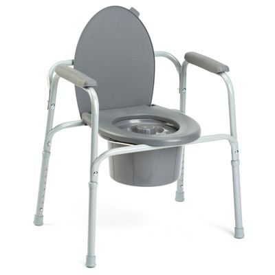 Image 1 - Invacare Commode All-In-One Steel 9630