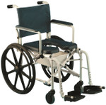 Invacare Mariner Rehab Shower Commode Wheelchair 6795/6895