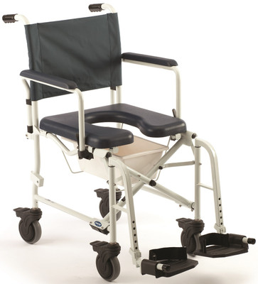 Invacare 6891 Mariner Rehab Commode Shower Chair with 5\'\' Casters