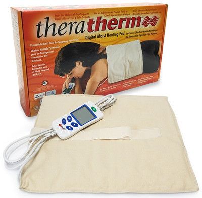 theratherm digital moist heating pad model 1032 manual