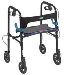 "Clever-Lite Rollator Walker with 8"" Wheels 10243 by Drive"