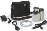 DeVilbiss 7310PR-D VacuAide Compact Suction Unit with Battery