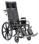 Sentra Extra Wide Full Reclining Wheelchair by Drive