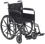Silver Sport 1 Manual Wheelchair by Drive
