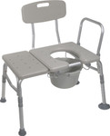 Tub Transfer Bench & Commode 12011KDC-1 by Drive