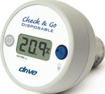 Check & Go Oxygen Analyzer Disposable 18580 by Drive