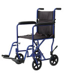 Probasics Lightweight Aluminum Transport Wheelchair 9201