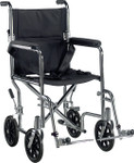 Deluxe Go-Kart Steel Transport Wheelchair by Drive