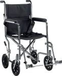 Deluxe Go-Kart Steel Transport Wheelchair by Drive