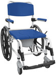 Drive Aluminum Rehab Shower Commode Chair 24'' Wheels NRS185006