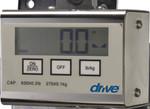 Digital Patient Lift Scale 13046 by Drive
