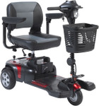 Phoenix HD 3-Wheel Heavy Duty Travel Scooter by Drive