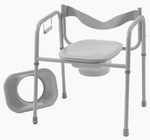 Wide 3-in-1 Commode w/ Elongated Seat 3224G by TFI Healthcare
