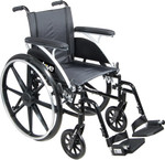 Viper Deluxe Lightweight High Strength Wheelchair by Drive
