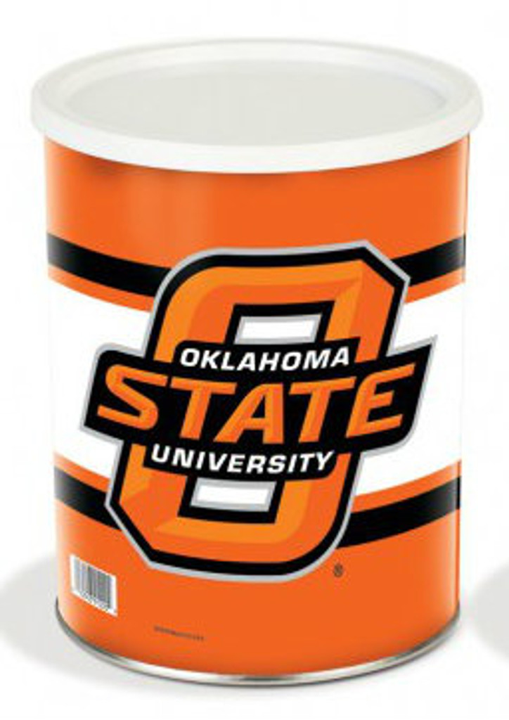 Oklahoma State Cowboys 1 Gallon Tin