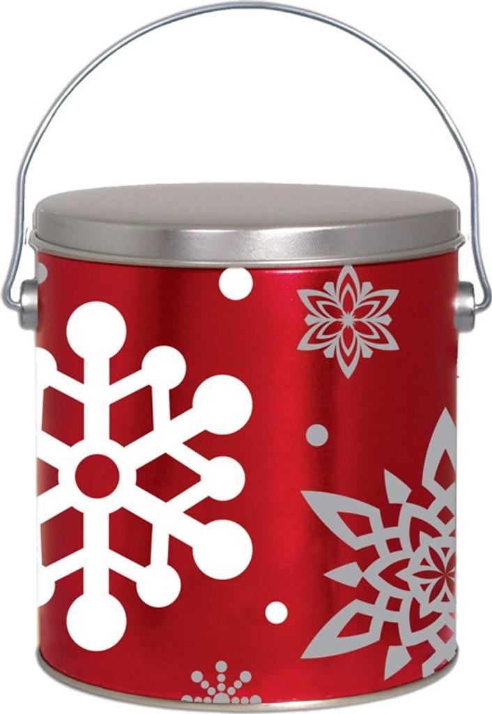 Let It Snow 1 Gallon Tin