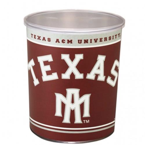 Texas A&M Aggies 1 Gallon Tin