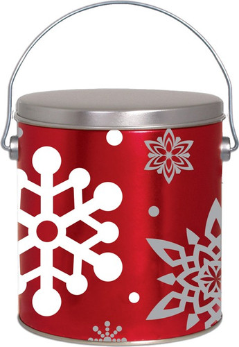 Let It Snow 1 Gallon Tin