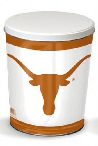 Texas Longhorn 3 Gallon Tin
