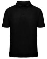 Short Sleeve School Uniform Polo - Black