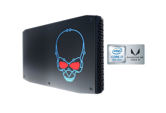 -	NUC8i7HVK (100W 8th Gen Intel® Core™ i7-8809G with Radeon RX Vega M GH GPU) -	NUC8i7HNK (65W 8th Gen Intel® Core™ i7-8705G with Radeon RX Vega M GL GPU)